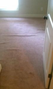 Before Atlanta Carpet Stretching