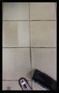 Fixing Grout on Tiles