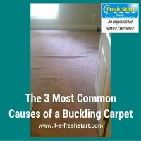 Carpet Stretching Tip – 3 Most Common Causes of Carpet Buckling