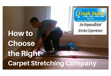 How to choose a carpet restretching company